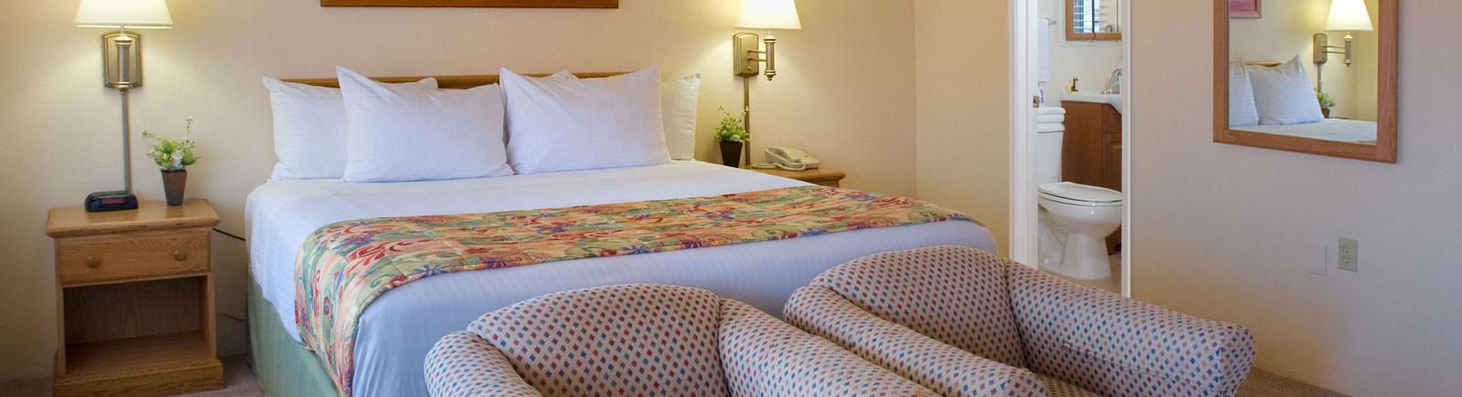 Rooms at Old Town Inn San Diego California